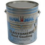 Kool Seal's White Elastomeric Roof Coating