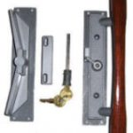 WCM Old Style Patio Door Lock