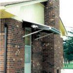 4′ x 48″ Dura-Bilt Aluminum Door Canopy