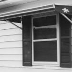 6′ Dura-Bilt® Aluminum Window Awning