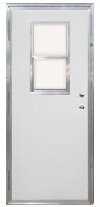 Exceptionnel 30u2033 X 72u2033 Kinro Out Swing Exterior Door With Vertical Sliding Window ...